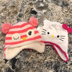Set of 2 Toddler Hats